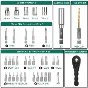 Hychika SD-4C kit accessori